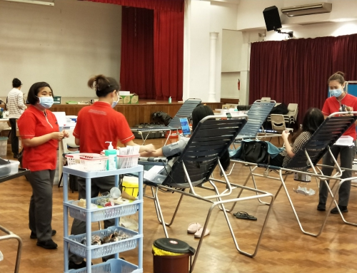 Singapore Red Cross Blood Donation Drive