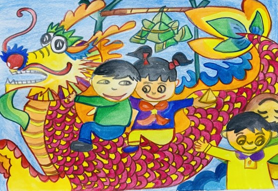 儿童组 Children Category 🏆 一等奖 First Prize 🏆 Yu Xuan
